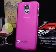 чистый цвет ультратонкий чехол для ПК Samsung Galaxy S5 i9600