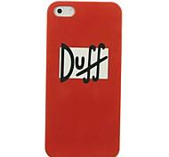 Caso duro Duff modello orso per iPhone4/4S