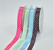 5/8 pouce d'encre d'impression de ceinture de couleur de polyester buty point quatre points oblique ribbon- 25 mètres par rouleau (plus de couleurs)