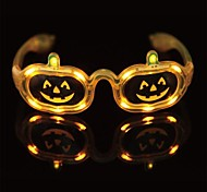 LED Pumpkin Orange Glasses for Halloween(1 Pc)