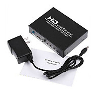 Playvision HDV-8A AV+HDMI Female to HDMI Female Video Converters Support 1080P
