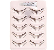 5 Pairs Natural False Eyelash