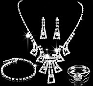 nation style wedding bride personality Jewelry Set