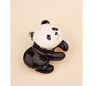 Fashion Korean Bear Gold Plated Brooch for Women In Jewelry