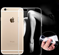 Ultra-thin 0.3mm Transparent TPU Soft Case for iPhone6/6S (Assorted Colors)