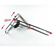 doble muelle pesquero soporte automático L43 x W5.5 x h5cm