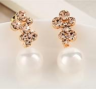 Love Is You High-grade Pearl Earrings