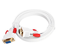 CYK CV11-000 1.5M 4.92FT VGA 15 Pin Male to VGA 15 Pin Female Computer Connection Cables TV Display Cables