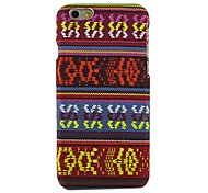 Ethnic Stripe Design Pattern Hard Cover for iPhone 6