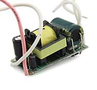 6-10x1W Internal LED Driver Transformer Power AC85~265V for E27 GU10 Spotlight Output DC13-36V