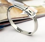Damenmode Persönlichkeit Titan Stahl Gürtelschnalle Armbänder