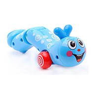 Wriggly Worm Wind-Up Toys (Random Color)