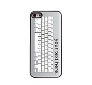 Personalized Case Keyboard Design Metal Case for iPhone 5/5S
