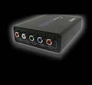 Lenkeng lq384 femmina hdmi YPbPr femmina convertitori video supporto 1080i 720p
