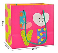 Lureme Lovely Cartoon Love Pattern Gift Bag(1Pc)