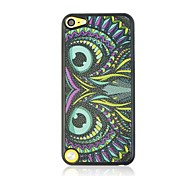 Owl Leather Vein Pattern Hard Case for iPod touch 5