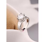 Fashion Korea Crown Zircon Alloy Ring Jewelry