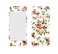 Angibabe Camellia Pattern Front and Back Tempered Glass Screen Protector for iPhone 5/5S