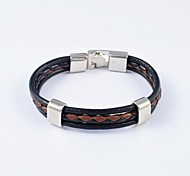European Style Men's Leather Bracelets