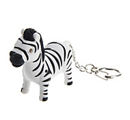 Lovely Zebra Shape Keychain Toys