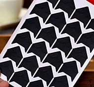 diy preto adesivo protetor de canto da foto (24 adesivos / pcs)