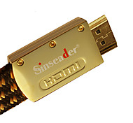 1.5m sinseader 4.92ft hdmi 1.4 macho a ps3 xbox360 macho cable acceso a computadoras tv envío gratuito