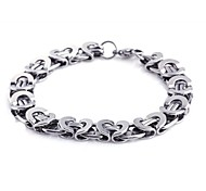 Men's Fashion Personality Titanium Steel Manual Style Bracelets