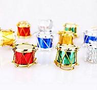 12 pcs Widgets tabour natal decorações multicolor