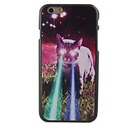 Cartoon Cat Design Pattern Hard Cover for iPhone 6