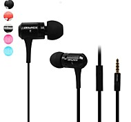 AWEI ES-100M  3.5mm In-Ear Earphones With MIC 3 Accessories for Samsung Phones(Assorted Colors)