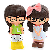 Xiaoxi Style Cute Doll Resin Piggy-Banks Toys