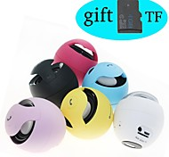 S10 Hi-Fi Camera Lens Hands-Free Mini Wireless Bluetooth Speaker with TF MIC For Samsung Phones(4GB TF Card Free Gift)