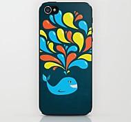рисунок кита вода трудный случай для Iphone 6