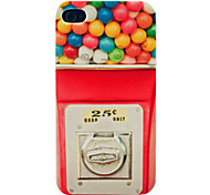 Candy Machine Pattern Hard Case for iPhone 4/4S