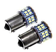 1156 6W 50x1210 SMD White Light LED Bulb for Car Brake Lamp (DC12V  2pcs)