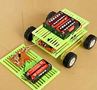 DIY Four-wheel Remote Control Car Novelty Toys