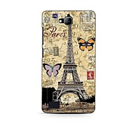 Butterfly Pattern Hard Case for HuaWei Honor 3C