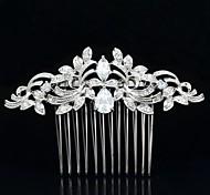 Gioielli da sposa 8,5 centimetri Nobby acconciature capelli pettine tiara nuziale per il partito