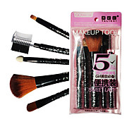 5 Makeup Brushes Set Goat Hair Face / Lip / Eye Others
