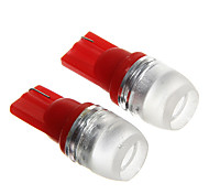 T10 1.5W Red LED  Car Instrument Lamps (DC12V, 2Pcs)