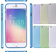Thin Soft Silicone Transparent Clear Case Cover Skin for iPhone 6 (Assorted Colors)