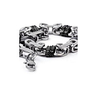Men's Fashion Personality Titanium Steel Manual Bracelets