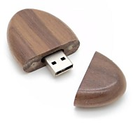 creativo usb madera unidad flash 2gb