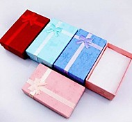 Coway 8*5*2.5 Bowknot Is Rectangular Jewelry Box Gift Boxes(Random Color)