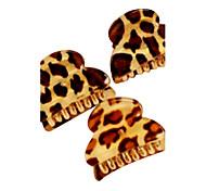 Leopard Stripe Acrylic Small Hair Claws