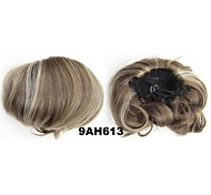 Flush Clip In Hair Wrap Synthetic Hair Pieces