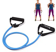 KYLIN SPORT™ Blue Tube Elastic String Sliming Fitness Yoga Resistance Bands Fitness