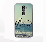 Anchor and Beach Design Hard Case for LG G2