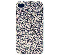 Un sacco di Hard Case Gatti Pattern for iPhone 4/4S