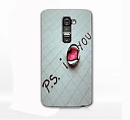 I Love You Design Hard Case for LG G2